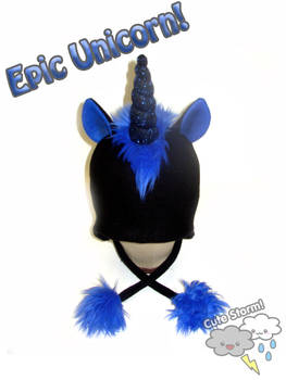 Epic Black Unicorn Hat by The-Cute-Storm on DeviantArt b4e9661bb68
