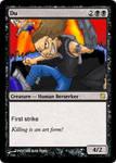 Du Magic-Card by Captain-Pyro