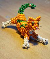 Beaded Kitty by Kridah