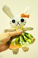 Bunny Plushie by Kridah
