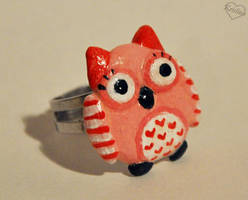 Owl ring by Kridah