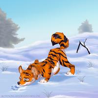 Tiger - dog by kotenokgaff