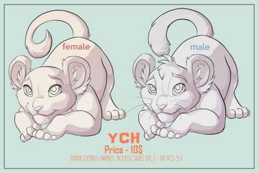 YCH Felines unlimited slots by kotenokgaff