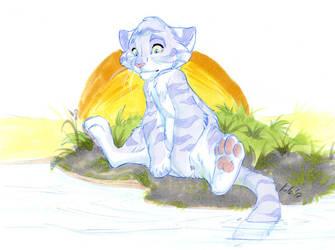 Sad Kitty by kotenokgaff