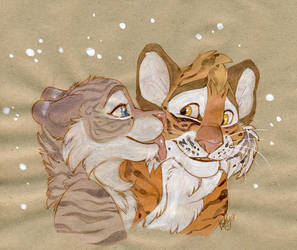 Kiss by kotenokgaff