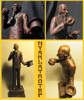 H.P. Lovecraft's Nyarlathotep by zombiequadrille