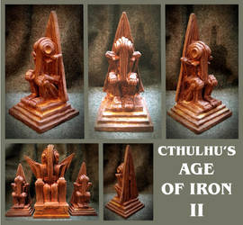 Cthulhu's Age of Iron II by zombiequadrille