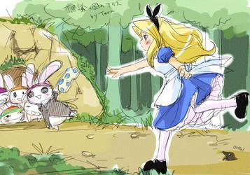 get panties from Alice by Teruchan