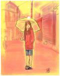 painful Rain by Teruchan