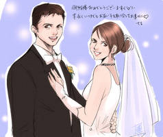 Happy marriage by Teruchan