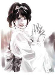Yukata girl by Teruchan