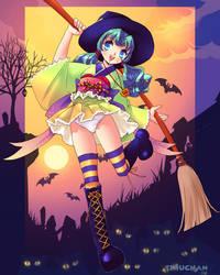 Halloween-tan by Teruchan