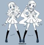 New pretty cure Dance by Teruchan