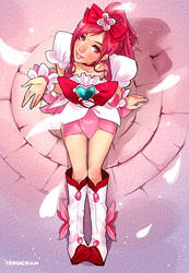 Cure Blossom Teru-ish by Teruchan