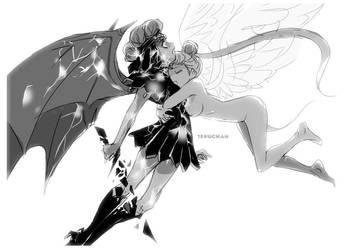 last battle by Teruchan