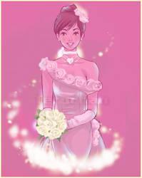 Bridal costume by Teruchan