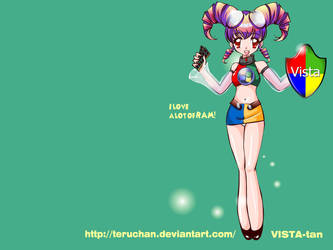Vista-tan by Teruchan
