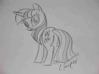 Twilight Sparkle Production Sketch by Calpain-EqD