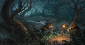 Jungleboar by Eedenartwork