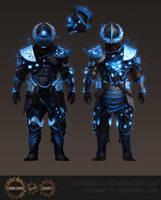 Lunaris Armour Glow Effect by Eedenartwork