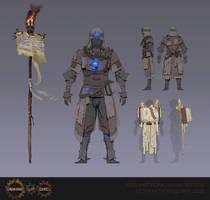 Scholar Armour by Eedenartwork