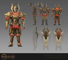 Dominator Armour by Eedenartwork
