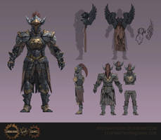 Subjugator Armour by Eedenartwork