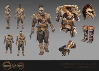 Tiger armour by Eedenartwork