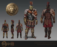 Manticore Armour Set by Eedenartwork
