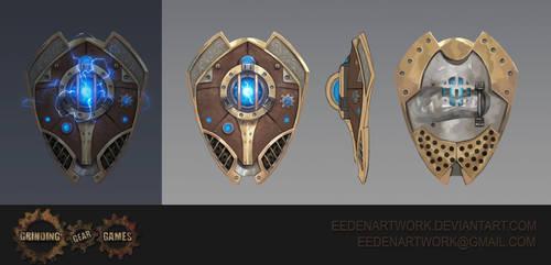 Stormcaller Shield by Eedenartwork