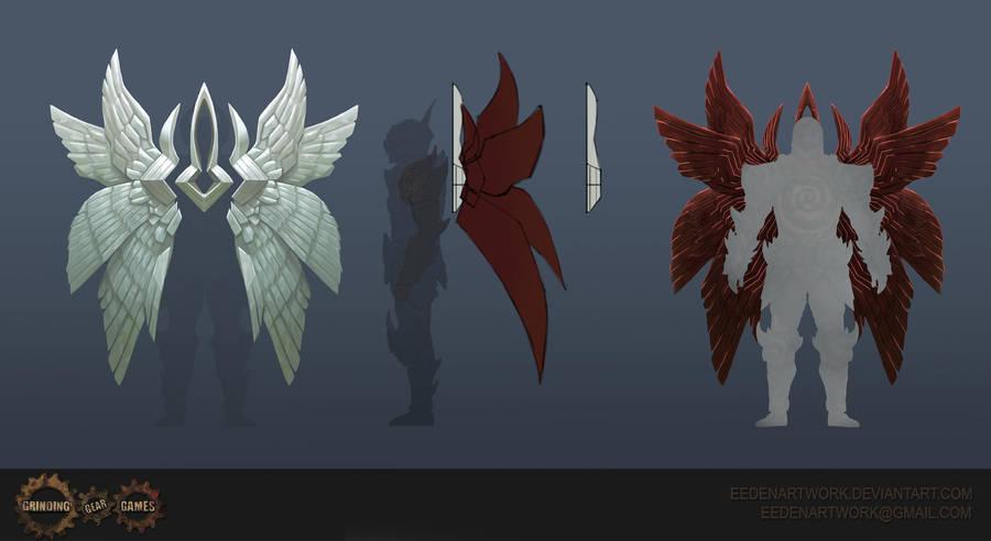 Pure Light Wings by Eedenartwork