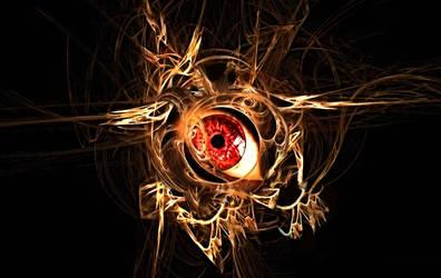 Nested Fractal Eye by XxR3zD3ViLxX