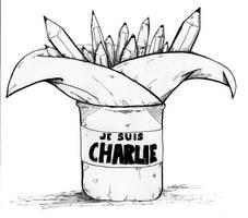 Je Suis Charlie parce que je suis Libre. by Vaatry