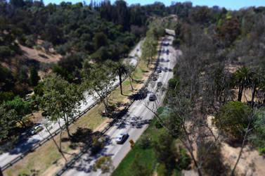 The 5 freeway in San Diego by DragonKinfolk