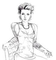 Scarlett Johansson by Feael