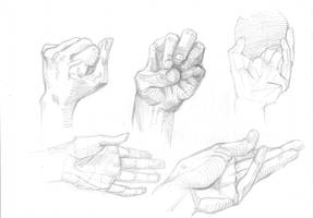 Hands scrabbles #2 by Feael
