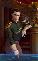 Vice-admiral Prokopovich by Feael