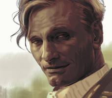 Viggo Mortensen by Feael