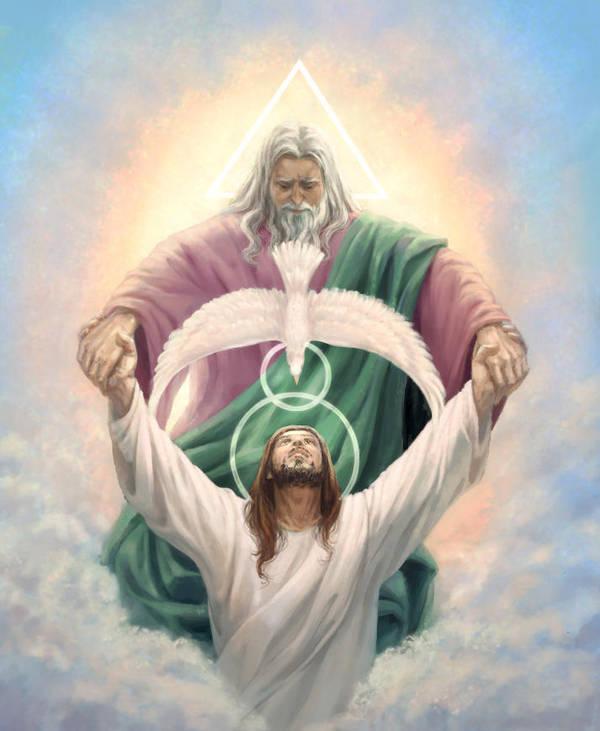 Holy Trinity by Feael