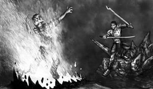 Flaming Death by hwango