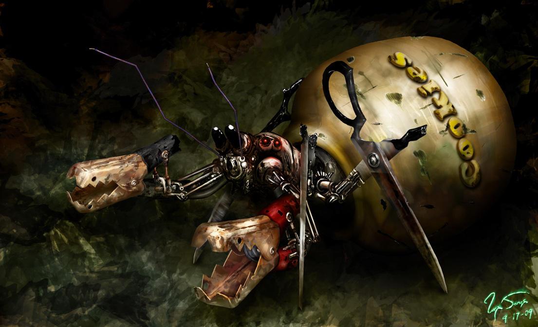 9 Hermit Crab by hwango