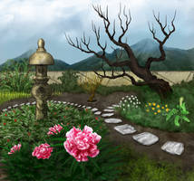 Medicinal Flower Garden by hwango