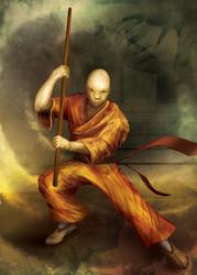 Shaolin Monk by hwango