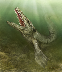 Mosasaur by hwango