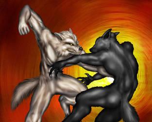 Takedown - werewolf combat by hwango