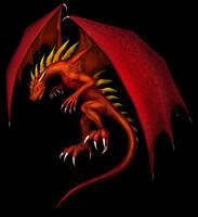 OGC dragon, color by hwango