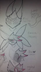 [Doodles of ideas Cantu edition] many forms by NinjaShadowPenguin