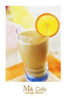 Milk Cafe- Orange by Xingz