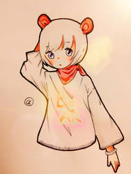a bear by cherry1812