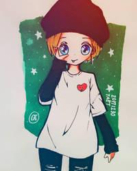 TaeTaeV fanart  by cherry1812